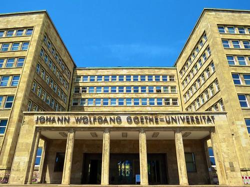 Goethe Universität Frankfurt, Goethe Installation