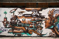 graffiti - Porto Alegre (Luiz Filipe Varella) Tags: street brazil urban muro art brasil graffiti klein do arte grafiti capital porto artists da urbana brazilian walls das filipe alegre paredes luiz ruas mauá grafite muros gaúcha brasileiros varella grafiteiros