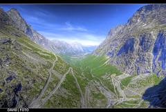 Trollstigen, Rauma (Noruega) HDR (David Aznar) Tags: 2 norway photoshop canon carretera 10 4 sigma escalera pro noruega troll 20 hdr rauma trolls norvege trollstigen photomatix 600d cs5