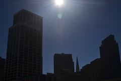 Silhouettes against the sun (ianoak) Tags: sanfrancisco embarcadero pier14