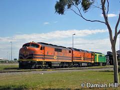 GM43 (baytram366) Tags: green creek vintage gold gm power diesel south centre australian dry loco australia trains national adelaide motive freight locomotives mpc rollingstock gm43 gm46
