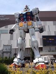 May 30th (dawntothewest) Tags: statue japan tokyo nikon  odaiba gundam   nikond3000