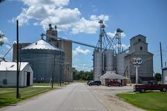 Earlville coop grain elevator (johnfromtheradio) Tags: elevator grain coop earlville johnhanna