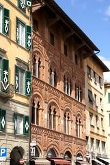 Pisa, Lungarno Pancinotti, Palazzo Agostini (HEN-Magonza) Tags: italien italy italia pisa tuscany toscana toskana palazzoagostini lungarnopancinotti