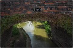 Tarver's Bridge No 179 (lovestruck.) Tags: uk bridge sun sunlight brick water canal shadows lock steps towpath brickwork
