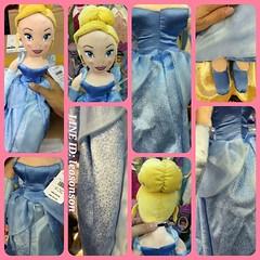 "Disney Store USA 20"" Princess Plush Doll น้องซิน Cinderella  - Aurora ชมพู - Bell เหลือง - Mermaid เงือก - Snow White สโนไวท์ - Cinderella ฟ้า - Rapunzel ราพันเซล ม่วง  สินค้านำเข้าจากอเมริกา  ตุ๊กตาเจ้าหญิง นุ่มน่ากอด ยัดโพลีเอสเตอร์ กันไรฝุ่น สินค้าจาก"