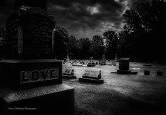 The Death Of Love (Ghost Of Nations Photography And Digital Art) Tags: blackandwhite bw cemeteries black cemetery graveyard moody gloomy headstone headstones creepy hdr ghostofnations ghostofnationsphotography
