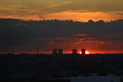 Wednesbury Sunset 21/07/2014 (Gary S. Crutchley) Tags: uk sunset england urban sun black west church set evening town nikon raw britain united country hill great sigma kingdom apo 70300mm townscape westmidlands dg midlands d800 blackcountry wednesbury f456
