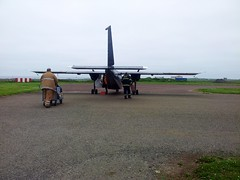 Ready To Return To Kirkwall (Dugswell2) Tags: airport orkney northronaldsay