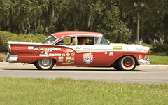 1957 Ford Fairlane (Yakin669) Tags: road old travel motion cars ford race speed vintage moving time florida great competition coker event transportation 1957 sumter bestwestern ocala morse thegreatrace greatrace thevillages ladylake hemmingsmotorsports ocalaandladylake fairlanecarsvintageoldgreatraceeventocalaladylakeocalaandladylakeflorida