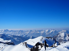 You havent seen the alps untill you have climbed a mountain!