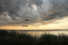 Clouds over lake Vnern (freddy.olsson) Tags: clouds vnern lakevnern