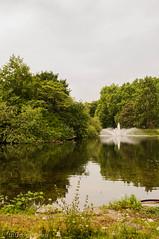 St. James I (_introspection) Tags: park uk trees england green london nature fountain st garden landscape photography james pond