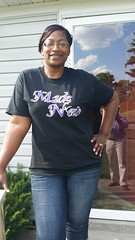 Tanya sports her Made New tee!