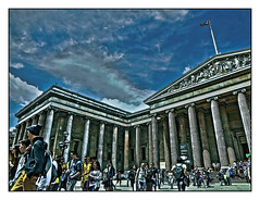 Day trip to the British Museum (tim constable) Tags: trip school summer vacation england holiday london heritage history stone skyline architecture clouds facade greek major education symbol cloudy roman britain central columns entrance culture landmark pride tourist tourists busy destination classical educational britishmuseum pillars effect archeology establishment hdr touristattraction cultural crowded dayout forecourt institution significant artefacts worldclass reputation unitedkingdon enviable seatoflearning timconstable nobleelegant