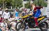 "Vancouver Pride Parade 2014 - 0017 (gherringer) Tags: summer music canada vancouver fun happy bc pride parade wonderwoman motorcycle colourful vanpride ""west end"""