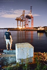 218/365 Aug 6 (BrianGoPhoto) Tags: nyc newyorkcity selfportrait water brooklyn docks eastriver hudsonriver 365 redhook shippingcontainers project365 nycstreetphotography 365project