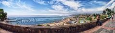 CHORRILLOS (clandestinox21) Tags: sol beach peru water canon landscape mar sand agua lima playa paisaje panoramic arena panoramica verano oceano chorrillos xti 400d canon400d paisajeperu limapanoramica