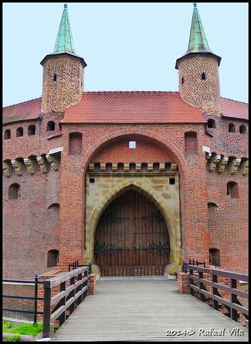La Barbacana de Cracovia  /  Krakow -Barbakan