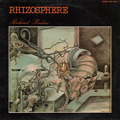 Richard Pinhas - Rhizosphre (oopswhoops) Tags: french album vinyl electronic deleuze pinhas heldon