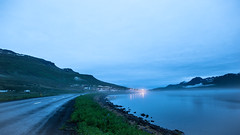 Last night in Faskrudsfjordur (*Jonina*) Tags: fog night iceland village 500views ísland nótt þoka 1500views 25faves fáskrúðsfjörður faskrudsfjordur þorp jónínaguðrúnóskarsdóttir