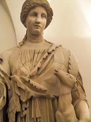 Closeup of the Goddess Artemis (Roman Diana) at the Palazzo Altemps in Rome, Italy (mharrsch) Tags: italy rome greek roman goddess deer fawn artemis mythology deity palazzoaltemps mharrsch