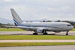 N767MW Boeing 767-277 Atlas Air MAN 03AUG14 (Ken Fielding) Tags: n767mw boeing b767277 atlasair vip corporate aircraft airplane airliner jet jetliner widebody