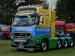 P1070290 (gordons1980) Tags: truck volvo construction malcolm lorry artic malcolmgroup stgocat3 truckfest2014scotland