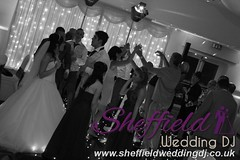Andrew & Lauren McCambridge - Hellaby Hall - Black & White  Wedding Photos by Sheffield Wedding DJ 0012