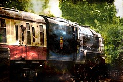 Steam Locomotive 'Tornado' (por2able) Tags: explore devon tornado textured steamlocomotive coth exetercentral t189 solstock awardtree joessistah magicunicornverybest coth5 imagetrolled lnera1class462no60163