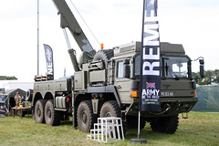 British Army REME Display/MAN 8x8 Recovery Truck PG63AB (NTG's pictures) Tags: truck army wings wheels and british recovery dunsfold 2014 reme 8x8 pg63ab displayman