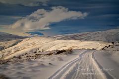 Isolation Road (Remarkable Imagery) Tags: winter snow landscape kingston alpine otago tussock nevisrange tors
