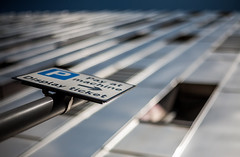 Display ticket (...coming back!) Tags: silver parking convergence roadsign p silvery carpark paleblue parkingticket shallowdof streetparking carparking payatmachine displayticket