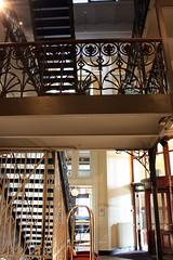 Rotterdam - Hotel New York (gerry.bates) Tags: building netherlands architecture port design rotterdam harbour interior structure artnouveau staircase kopvanzuid hotelnewyork newyorkhotel hollandamerikakade hollandamericalijn hollandamericaquay
