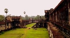 Angkor Wat grounds, Cambodia (sunlitnights) Tags: temple ruins cambodge cambodia buddhist buddhism angkorwat temples siem reap siemreap angkor wat hindu hinduism buddhisttemple hindutemple