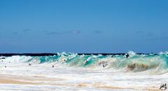 Big Beach (airinnajera) Tags: ocean summer beach water beautiful hawaii big nikon surf waves maui clear tropical bodyboarding bodyboard shorebreak d5100