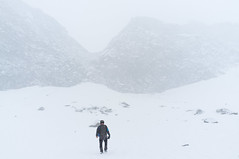 Van Passo Brizio naar Rifugio Garibaldi (Inklaar) Tags: sneeuw val fujifilm itali adamello nkbv x100 camonica bsk tem lombardije bergsportkamp inklaar:see=all