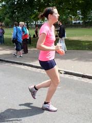 London Joggers (Waterford_Man) Tags: road park people london girl sport path running run jogging runner jog jogger finsburypark