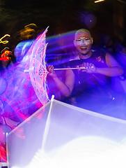 Singapore Night Festival 2014 - Starlight Alchemy (gintks) Tags: singapore poi hulahoop nationalmuseumofsingapore singaporetourismboard fanveil illuminatedplaytime