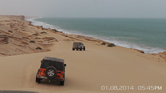 20140801_174528 (mechanic_x) Tags: ocean road camping summer ford landscape cool nice desert jeep offroad off oman jk jku