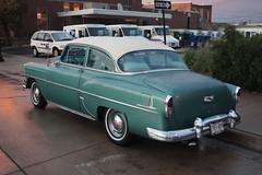 1954 Chevrolet (DVS1mn) Tags: cruise cars chevrolet car minnesota night gm saturday bowtie chevy hastings carshow generalmotors cruisenight cruisein minnesotacarshow