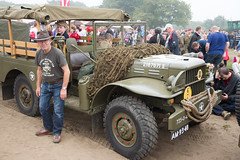Historical truck #Keepthemrolling #Margetgarden2014 #Airborne_2014