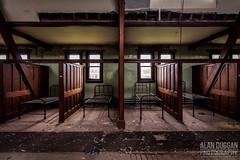 St Joseph's Seminary - Dorm Room (DugieUK) Tags: urban abandoned church saint st joseph fireplace empty room exploring dorm corridor explore forgotten dining joes dormitory seminary derelict josephs urbex dugie dugieuk
