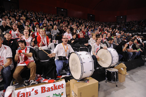 Supporters JL Bourg Basket - ©JLBourgBasket