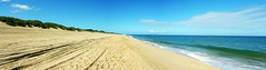width & breadth (nj dodge) Tags: hawaii sand dunes south pacificocean kauai sanddunes polihalebeach niihauisland