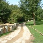 Serpentea el acceso al área natural del Clamores