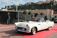 Ford Thunderbird 1956 (tautaudu02) Tags: auto show cars ford automobile monaco moto motor thunderbird legend coches voitures 2014