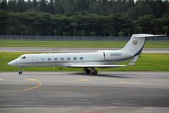 N550AU (Bank of Utah Trustee) (Howard_Pulling) Tags: airport nikon singapore asia aviation august changi airlines 2014 howardpulling d5100