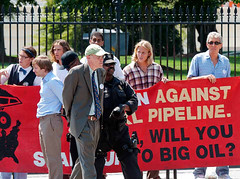 "Bill-McKibben takes a walk • <a style=""font-size:0.8em;"" href=""http://www.flickr.com/photos/21237195@N07/15360333685/"" target=""_blank"">View on Flickr</a>"