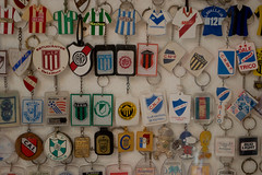 Colección de llaveros (laurw) Tags: keychain guinness record futbol llaveros granjaarenas